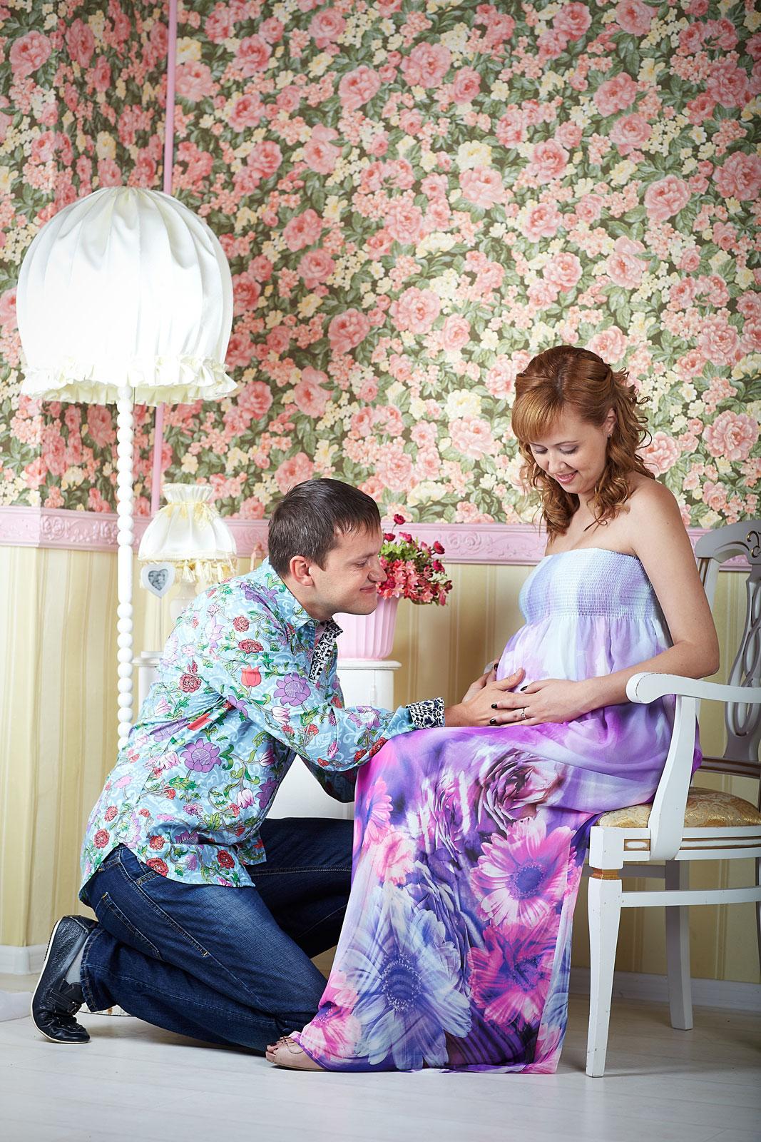Идеи для фотосессии для беременных двойней