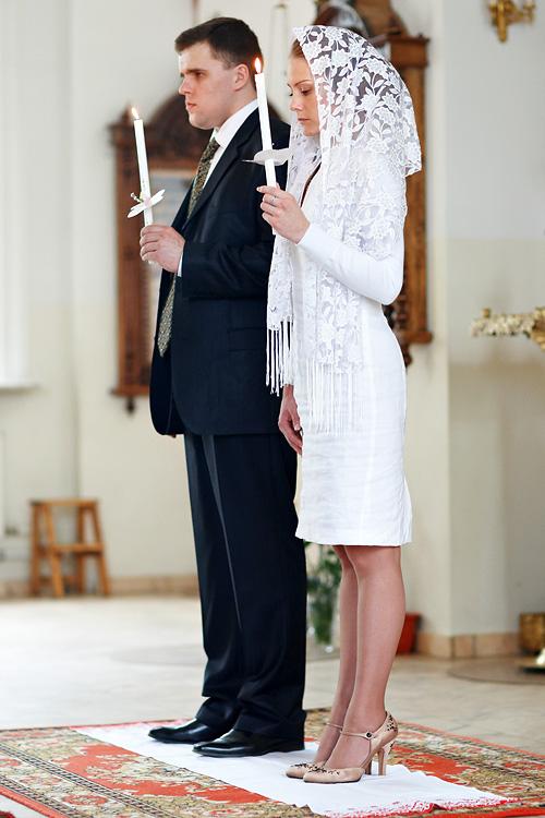 Венчание в церкви платья
