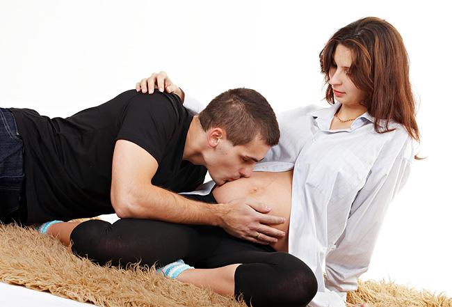 Фото беременная позы