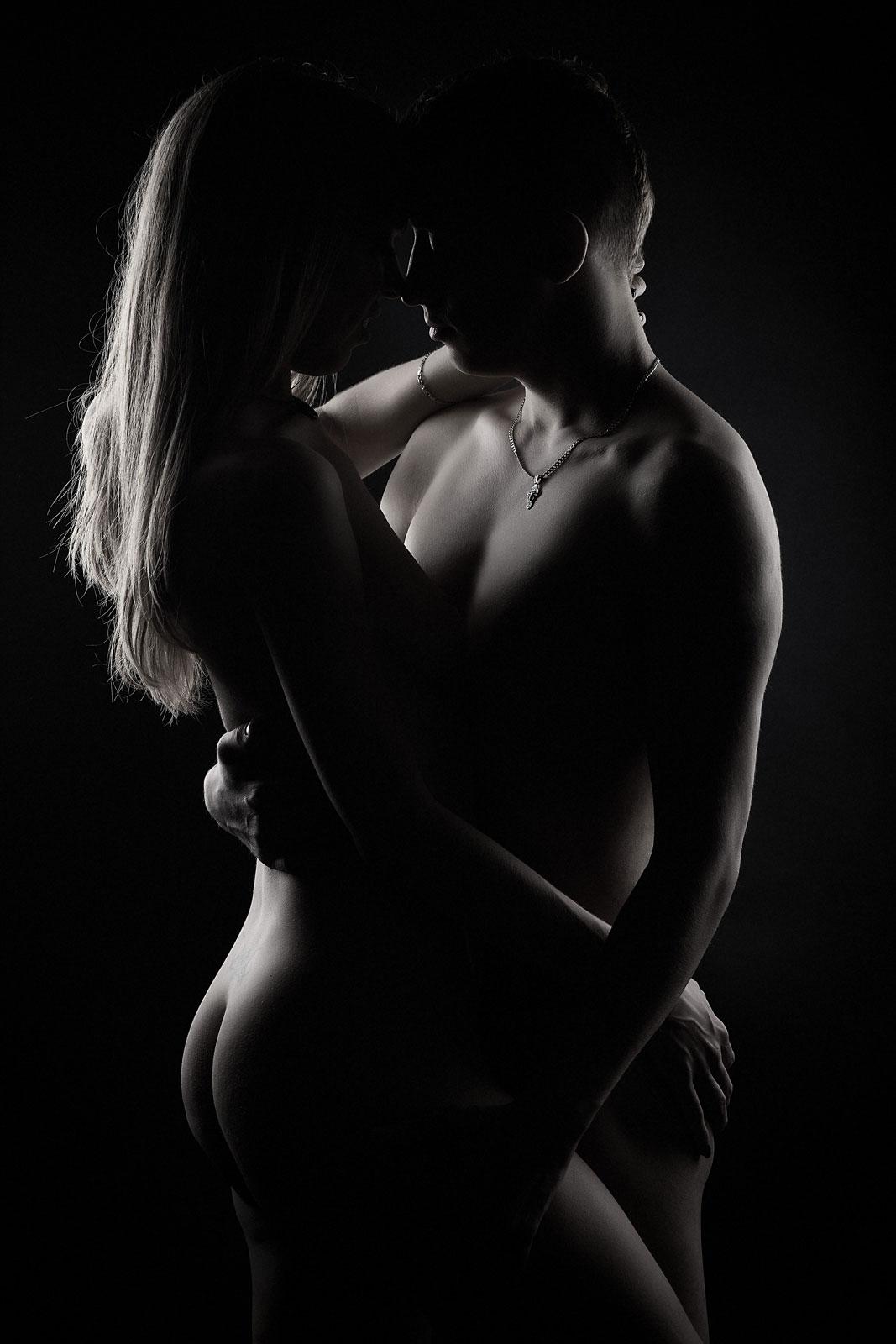 Парная сексуальная фотосессия